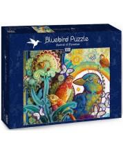 Puzzle Bluebird de 1000 piese - Basket of Paradise