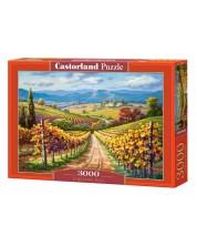 Puzzle Castorland de 3000 piese - Vineyard Hill