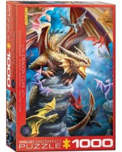 Puzzle Eurographics de 1000 piese - Dragon Clan