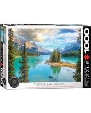 Puzzle Eurographics de 1000 piese - Malign Lake Alberta -1