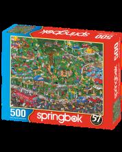 Puzzle Springbok de 500 piese - The Dog Park