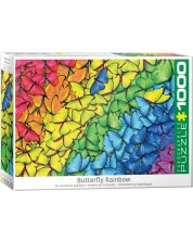 Puzzle Eurographics de 1000 piese - Butterfly Rainbow -1