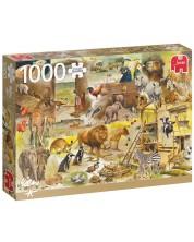 Puzzle Jumbo de 1000 piese -Building Noah's Ark