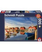 Puzzle Schmidt de 500 piese - Fishing Harbor