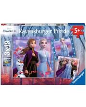 Puzzle Ravensburger din 3 х 49 piese - Frozen 2