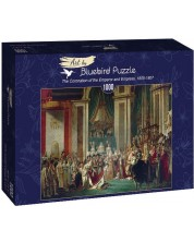 Puzzle Bluebird de 1000 piese - The Coronation of the Emperor and Empress, 1805-1807
