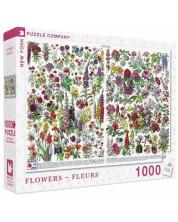 Puzzle New York Puzzle de 1000 piese - Flowers