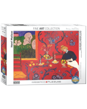 Puzzle Eurographics de 1000 piese - Harmony in Red by Henri Mat