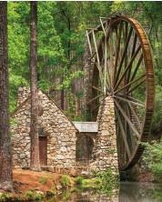Puzzle Springbok de 1000 piese - Water Wheel