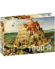 Puzzle Enjoy de 1000 piese - The Tower of Babel