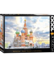 Puzzle Eurographics de 1000 piese - Moscow Russia -1