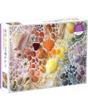 Puzzle Galison de 2000 piese - Rainbow Seashells