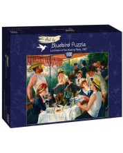 Puzzle Bluebird de 1000 piese - Luncheon of the Boating Party, 1881