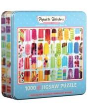 Puzzle Eurographics de 1000 piese - Popsicle Rainbow