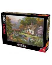 Puzzle Anatolian de 3000 piese - Casa cu trandafiri