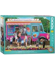 Puzzle Eurographics de 1000 piese - Dan's Ice Cream Van -1
