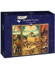 Puzzle Bluebird de 1000 iese -The Haywain Triptych