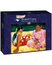 Puzzle Bluebird de 1000 piese - Tahitian Women on the Beach, 1891