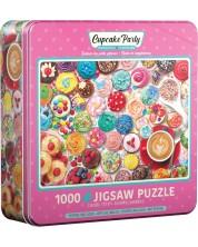 Puzzle Eurographics de 1000 piese - Cupcake Party Tin