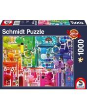 Puzzle Schmidt de 1000 piese - Colours Of The Rainbow
