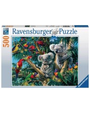 Puzzle Ravensburger de 500 piese - Koalas in a Tree