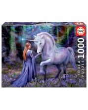 Puzzle Educa de 1000 piese - Bluebell Woods