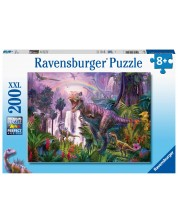 Puzzle Ravensburger de 200 XXL piese -King of the Dinosaurs