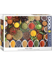 Puzzle Eurographics de 1000 piese - Spicy Table
