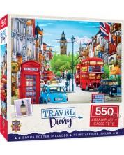 Puzzle Master Pieces de 550 piese -London