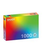 Puzzle Enjoy de 1000 piese - Colorful Rainbow Gradient