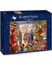 Puzzle Bluebird de 1000 piese - Village Greengrocer