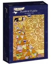 Puzzle Bluebird de 1000 piese - The Waiting, 1905