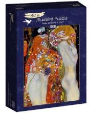 Puzzle Bluebird de 1000 piese - Water Serpents II, 1907