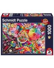 Puzzle Schmidt de 1000 piese - Candylicious