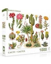 Puzzle New York Puzzle de 1000 piese - Cacti Cactus