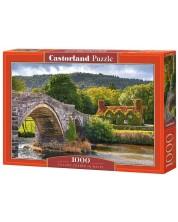 Puzzle Castorland de 1000 piese - Village Corner in Wales