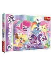 Puzzle Trefl de 24 XXL piese - Little Pony