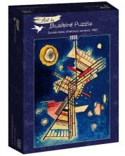 Puzzle Bluebird de 1000 piese - Dunkle Kühle (Fraîcheur sombre), 1927