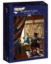 Puzzle Bluebird de 1000 piese - Art of Painting, 1668