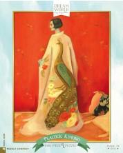 Puzzle New York Puzzle de 1000 piese - Peacock Kimono