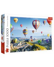 Puzzle Trefl de 1000 piese - Vedere din Cappadocia