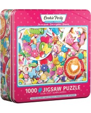 Puzzle Eurographics de 1000 piese - Cookie Party Tin -1