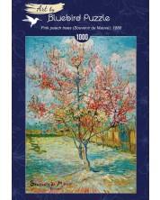 Puzzle Bluebird  de 1000 piese - Pink Peach Trees (Souvenir de Mauve), 1888