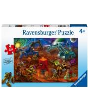 Puzzle Ravensburger de 60 piese - Space construction