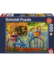 Puzzle Schmidt de 500 piese - Sunday Outing with Good Friends