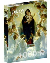 Puzzle Enjoy de 1000 piese - The Virgin With Angels