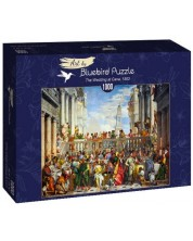 Puzzle Bluebird de 1000 piese - The Wedding at Cana, 1563