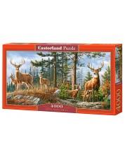 Puzzle Castorland de 4000 piese - Royal Deer Family
