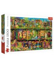 Puzzle Trefl de 1500 piese - Fairy bookcase
