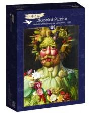 Puzzle Bluebird de 1000 piese - Rudolf II of Habsburg as Vertumnus, 1590